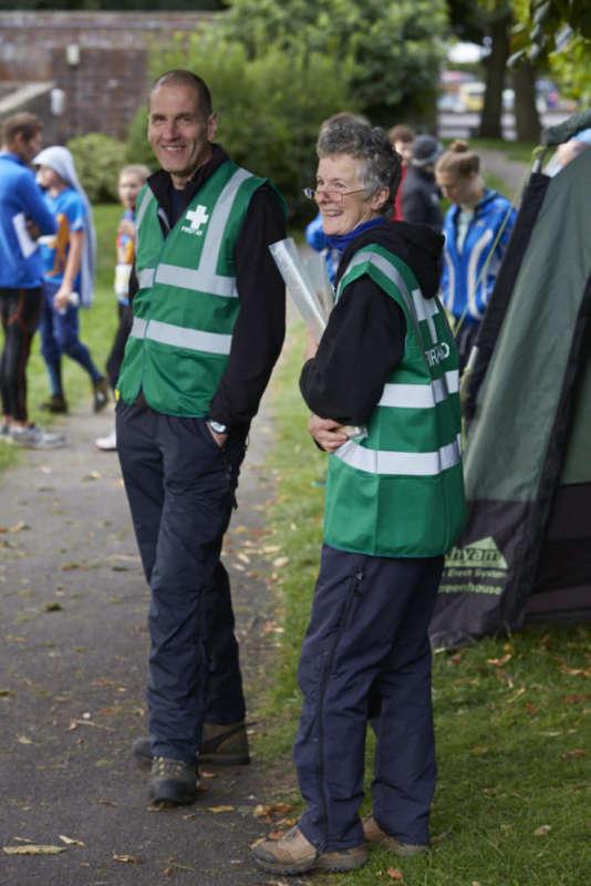 First Aid Volunteers