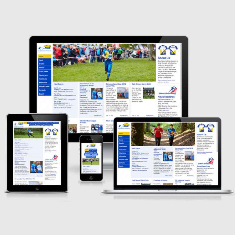 Responsive Design for Southdowns website