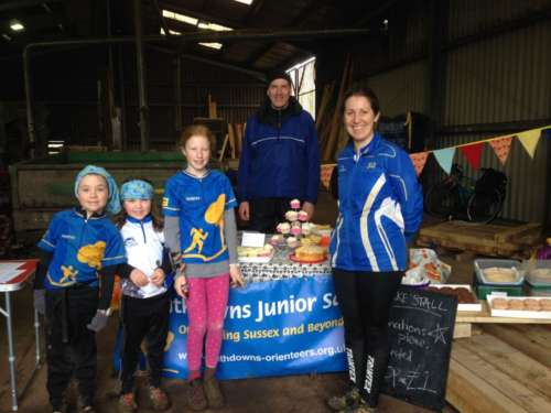 Raising funds for the Junior Squad