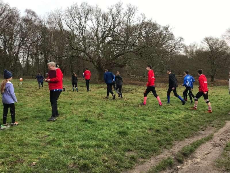 Coaching at Coates Common